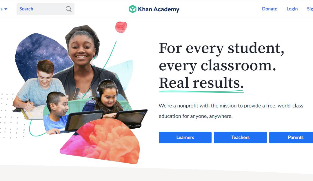 Khan academy เรียนออนไลน์ฟรีทั้งเว็บของจริง! แถมสอนดีด้วย