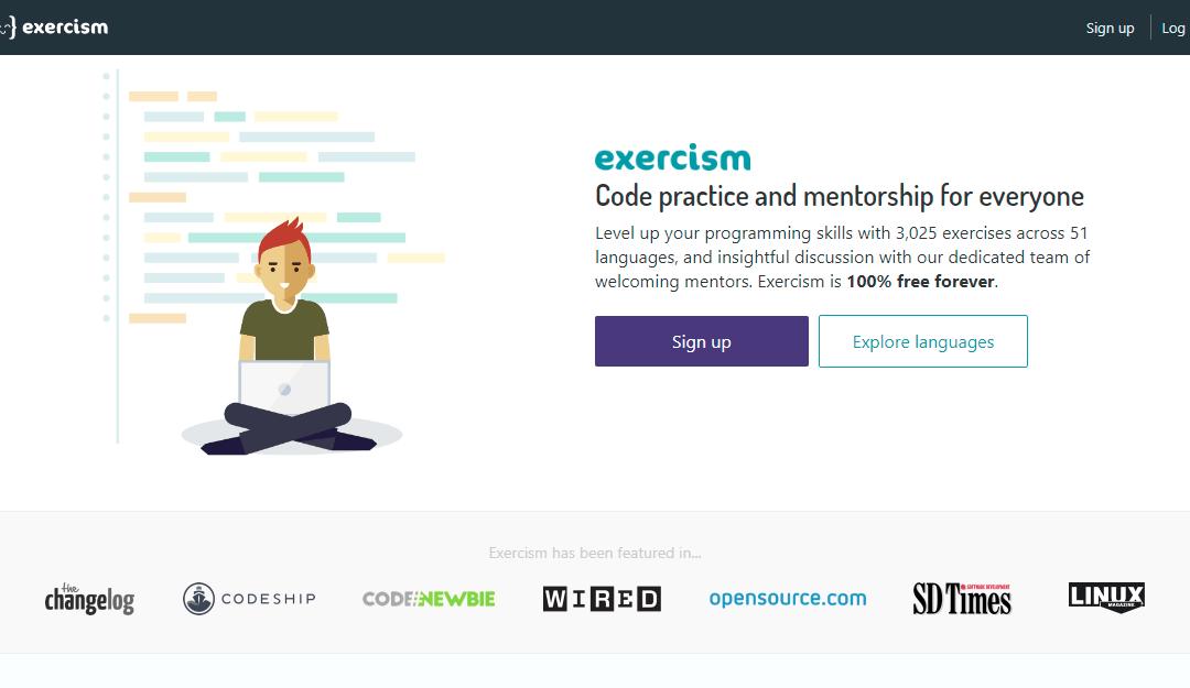 Exercism เรียนโค้ดฟรีพร้อมลงมือทำจริง
