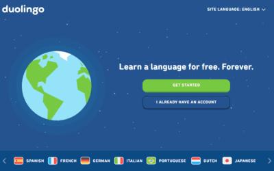 เรียนภาษาฟรีด้วย Duolingo
